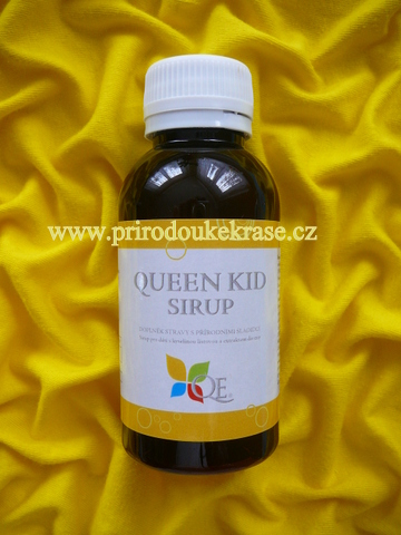 Queen Kid Sirup 100 ml (Sirup proti kašli)
