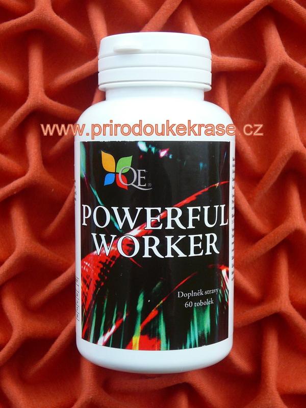 Powerful Worker 60 ks (Colostrum a vitamíny)