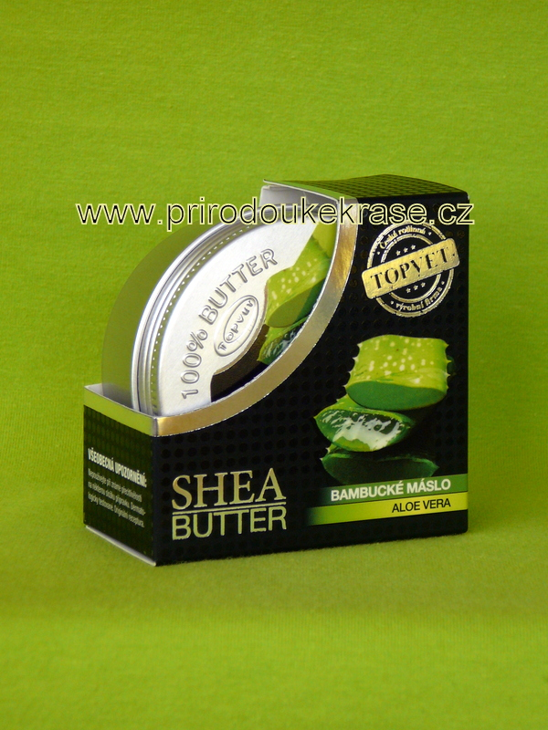 Topvet Bambucké máslo Aloe vera 100 ml
