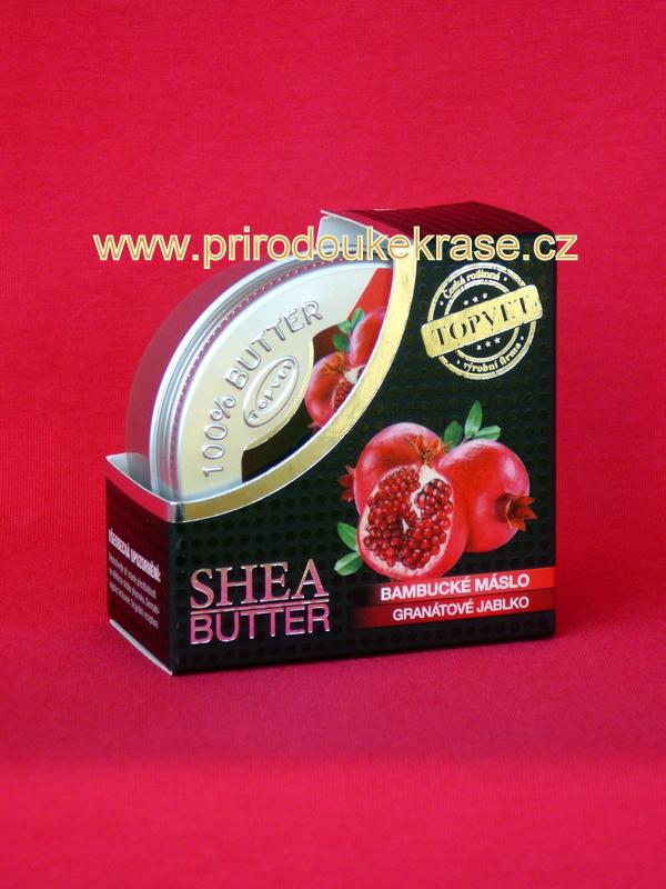 Topvet Bambucké máslo Granátové jablko 100 ml