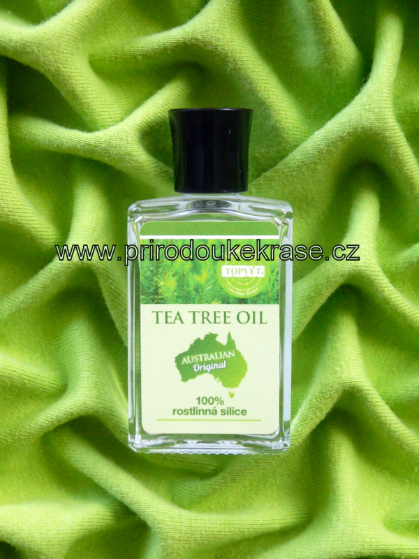 Topvet Tea Tree oil - 100% silice 10 ml