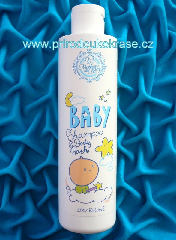 Hristina Přírodní šampon a tělové mýdlo pro miminka 250 ml (Dětská kosmetika)