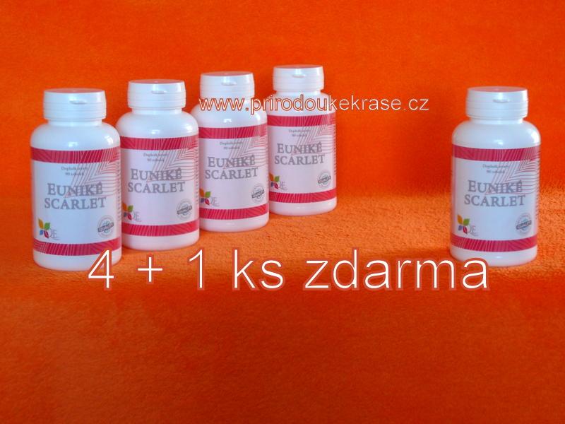 Euniké Scarlet 4+1 (Výhodná sada - kosti a klouby)