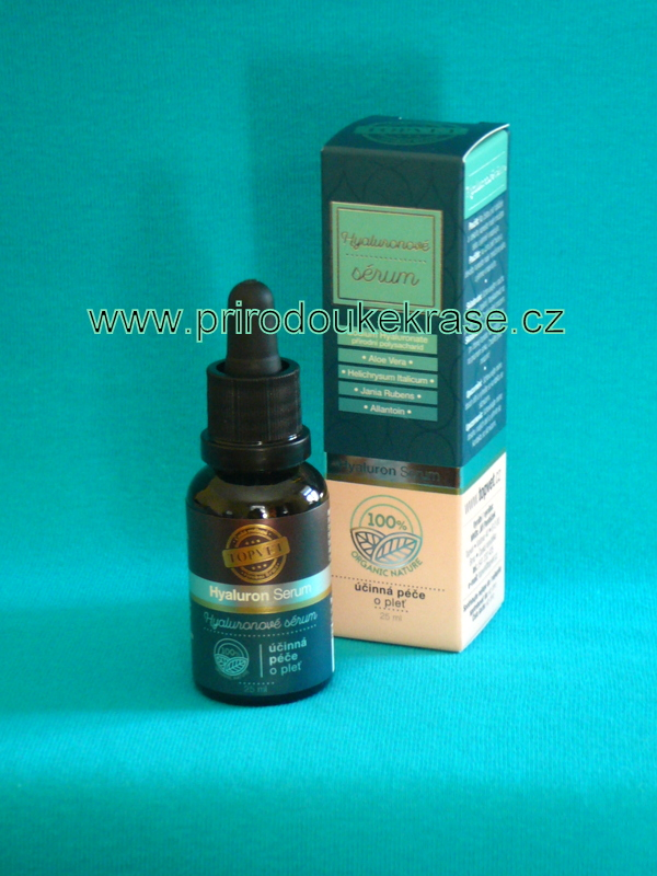 Topvet Hyaluronové sérum 25 ml